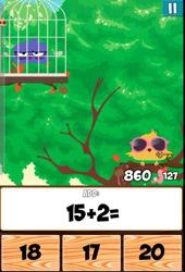 Maths with Springbird Game