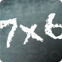 Times tables quiz! (Multiplication trainer) logo