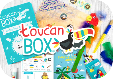 Toucan Box - crafty kids money activities from RoosterMoney