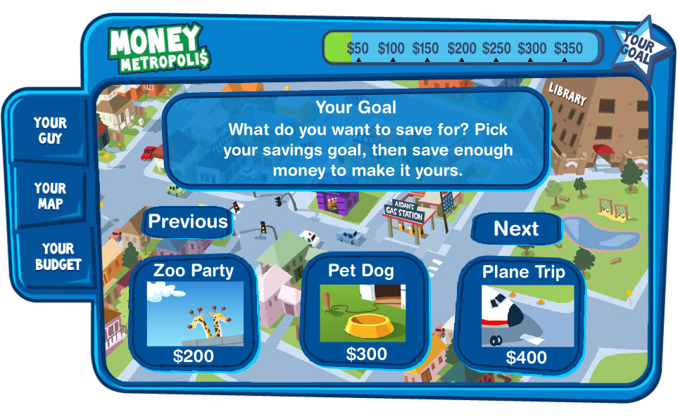 Money Games for Kids - Money Metropolis