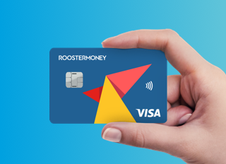 Kids bank and debit card - The RoosterCard