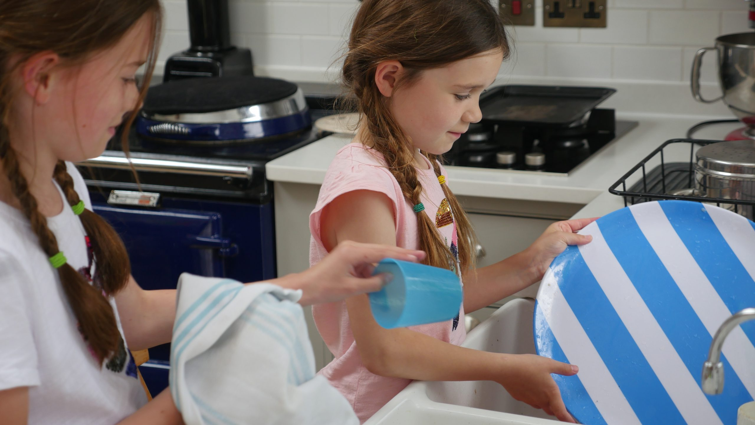 Family Chores - Washing the dishes